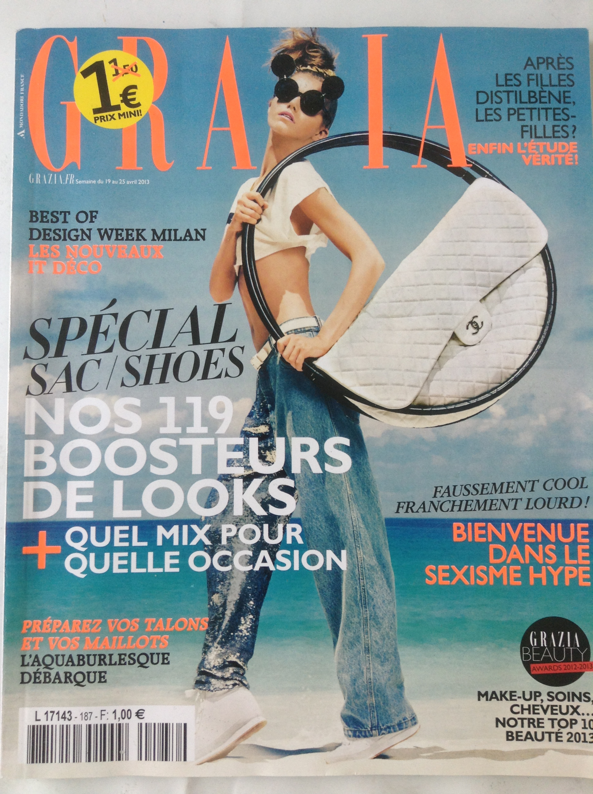 Couverture Grazia Sac Chanel